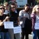 Pikieta w obronie praw kobiet w Sieradzu